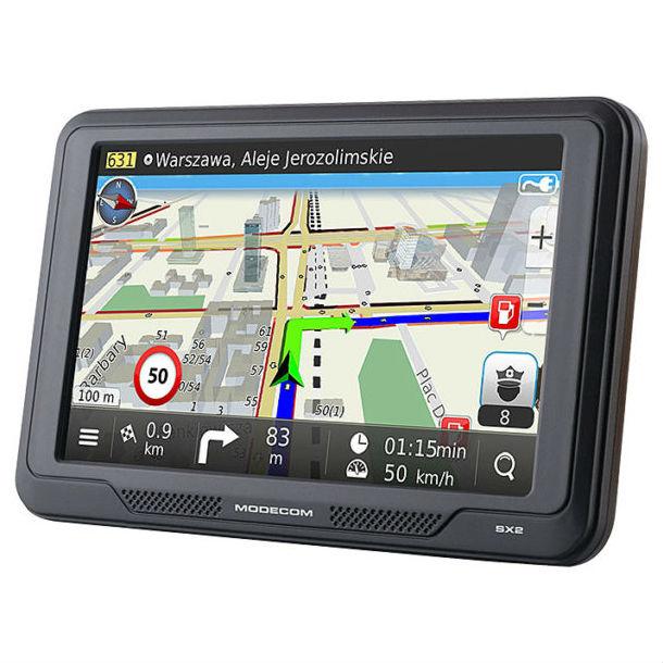 GPS-навигатор MODECOM Device FreeWAY SX2HD MapFactor (NAV-FREEWAYSX2HD-MF-EU) Тип автомобильный