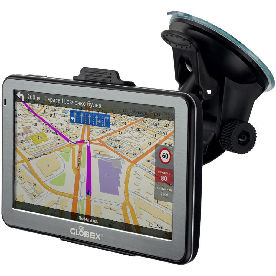 GPS-навигатор GLOBEX GE512 Навлюкс Карты стран Украина