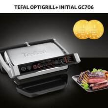 Гриль TEFAL OptiGrill+ GC706D34