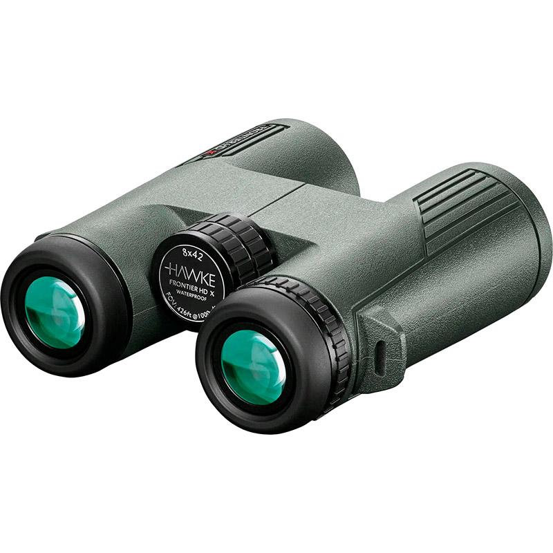 Бинокль HAWKE Frontier HD X 8x42 Green (38010) Максимальная кратность 8