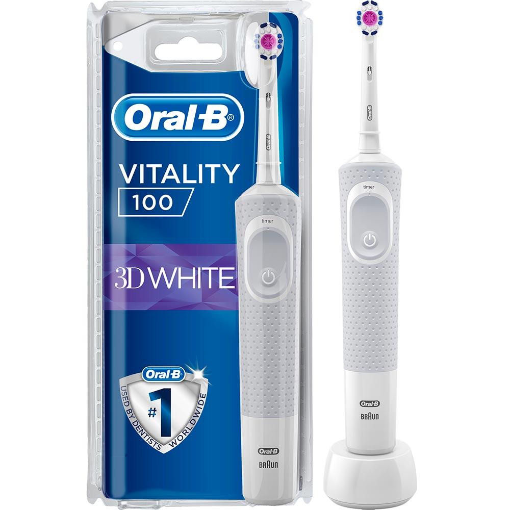 Зубная щетка BRAUN Oral-B Vitality 100 White (4210201262756)