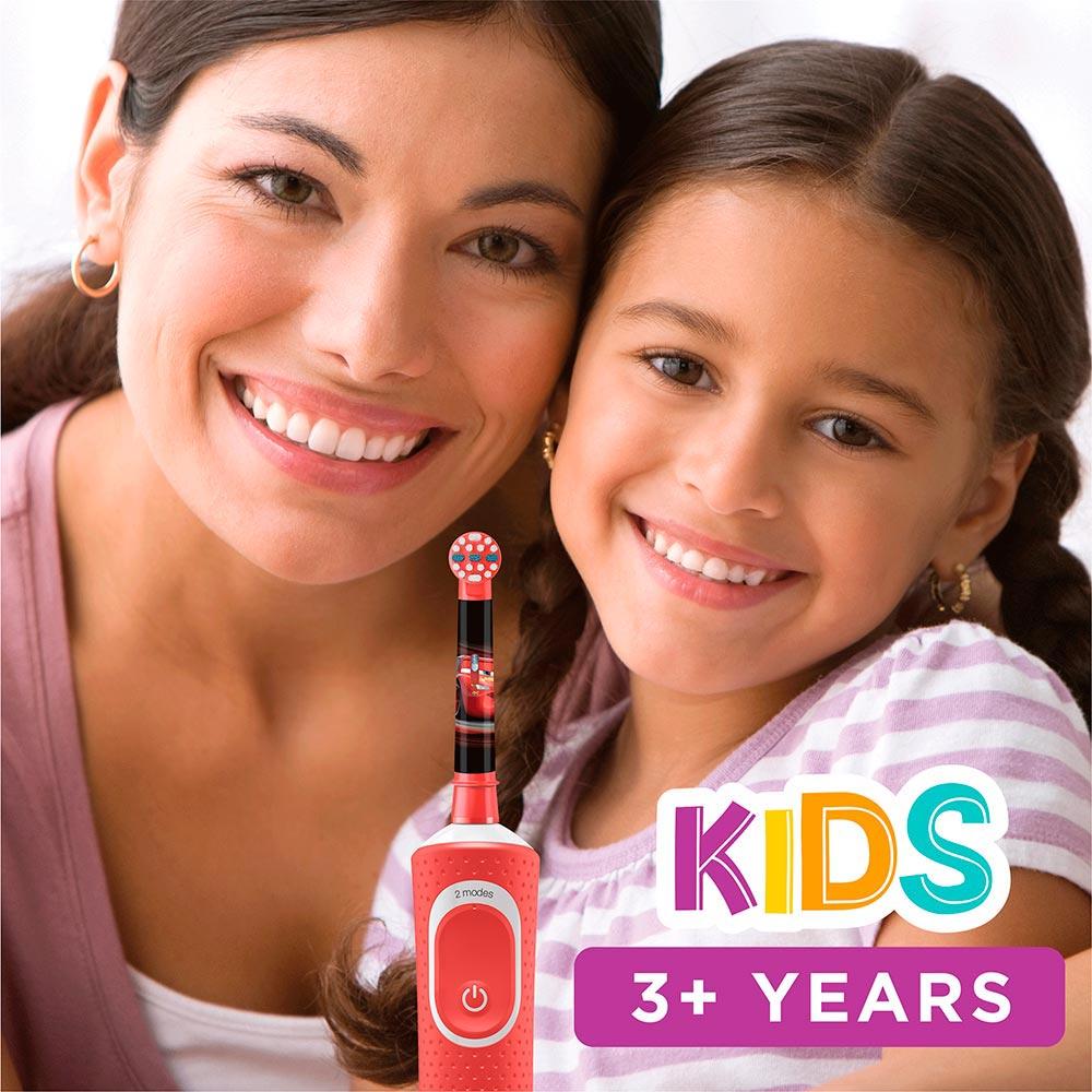 Зубная щетка BRAUN Oral-B Kids «Тачки» (4210201244554) Дизайн для детей