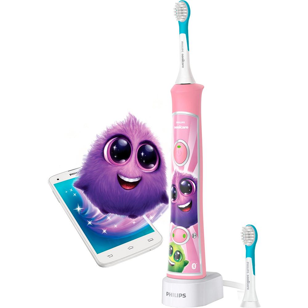 Зубная щётка PHILIPS Kids Smart Pink (HX6352/42) Тип электрическая зубная щетка