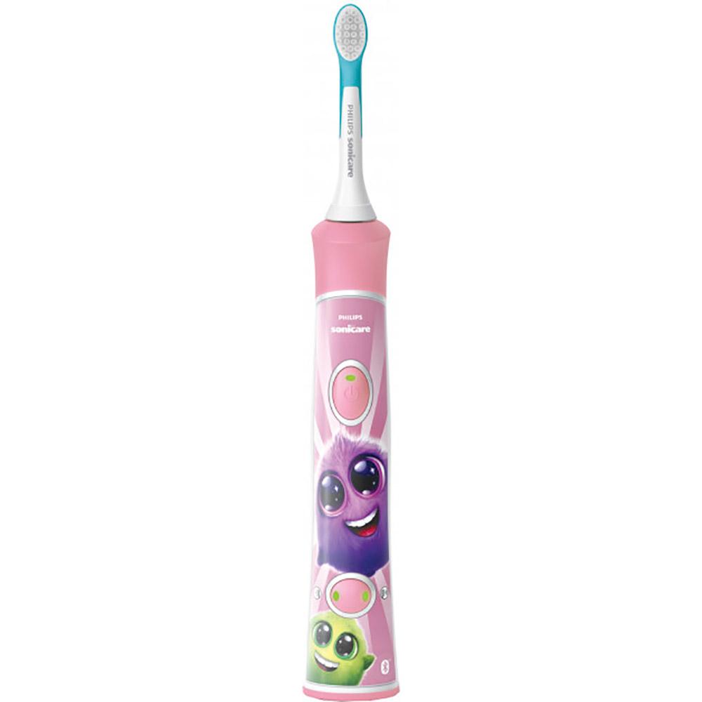 Зубная щётка PHILIPS Kids Smart Pink (HX6352/42) Тип головки съемная