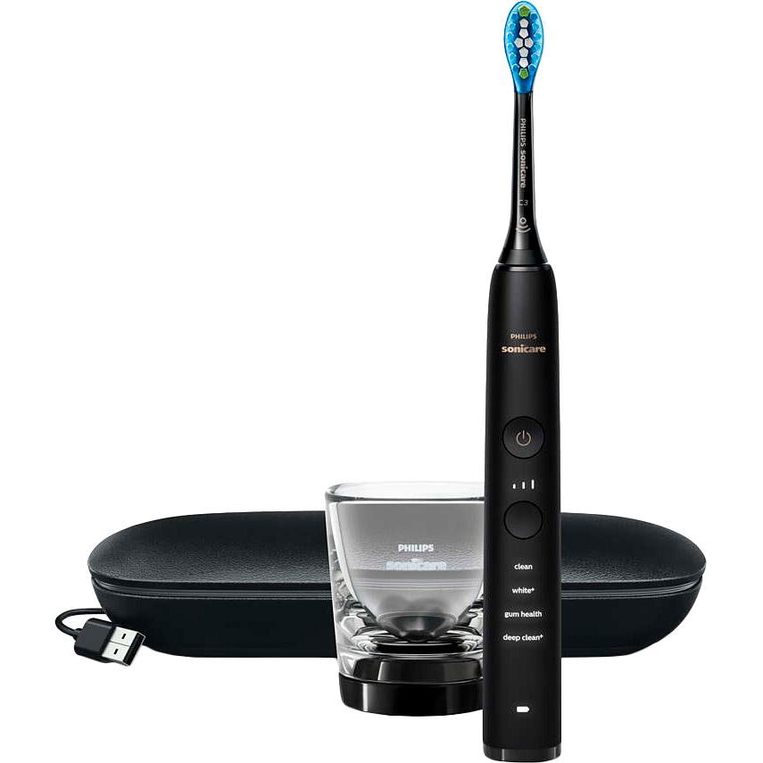 Зубная щетка PHILIPS Diamond Clean 9000 Smart Black (HX9911/09) Тип электрическая зубная щетка