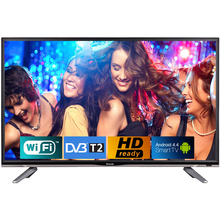 Телевізор BRAVIS LED-32E3000 Smart +T2 black