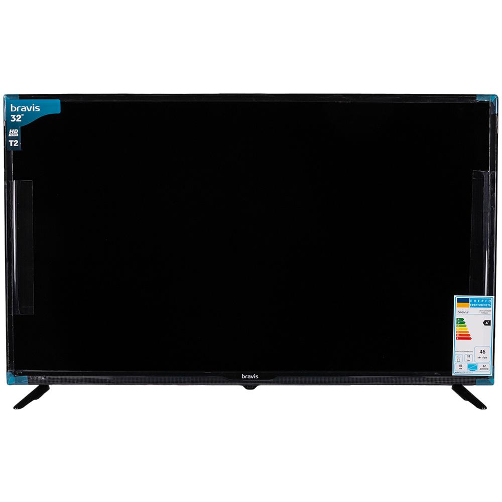 Телевизор BRAVIS LED-32G5000 + T2 black Разрешение 1366 х 768 (WXGA)
