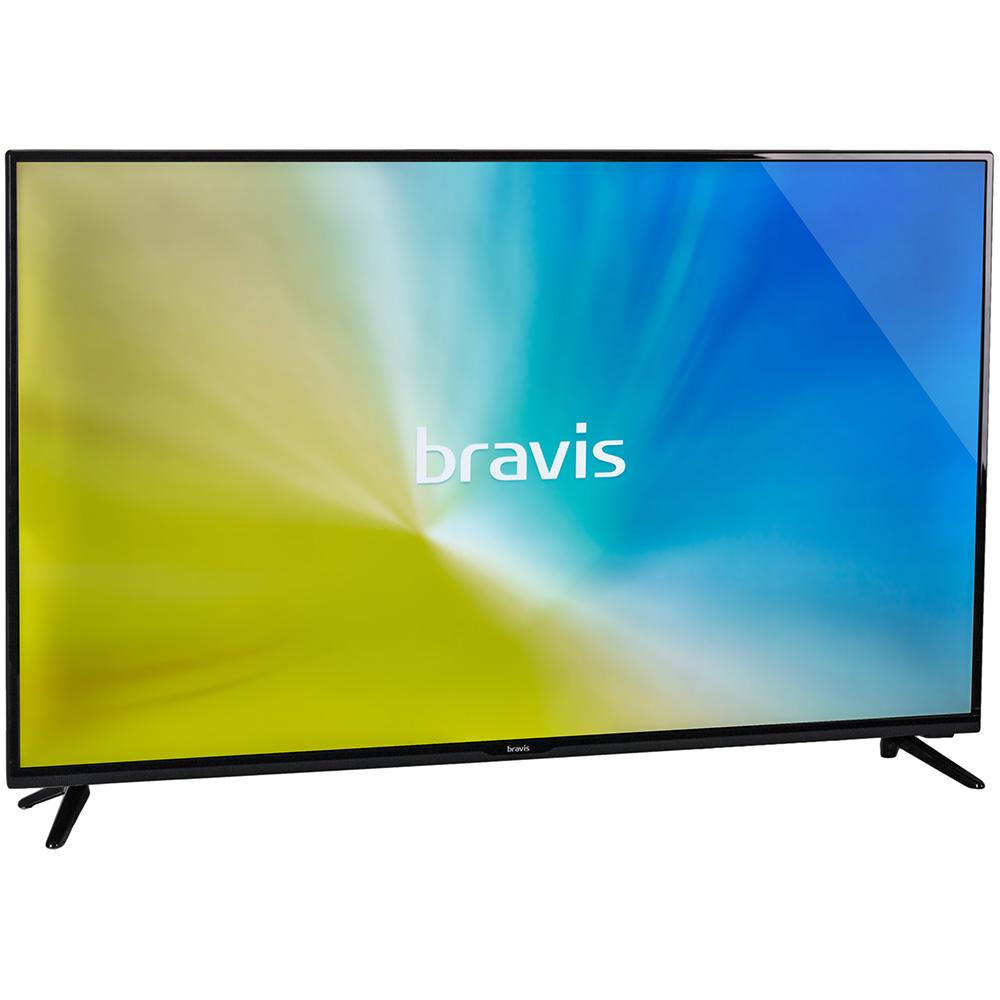 "Телевизор BRAVIS LED-43G5000 + T2 black Диагональ 43"" (109 см)"