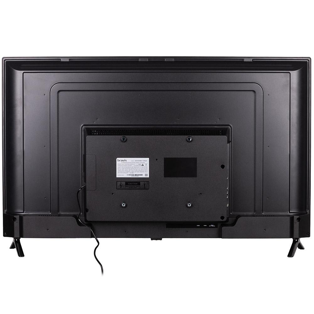 Телевизор BRAVIS LED-43G5000 + T2 black Разрешение 1920 х 1080 (Full HD)