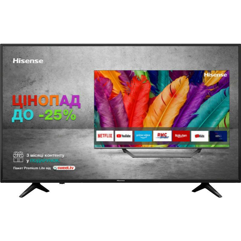 """Телевізор HISENSE 55A6130UW Діагональ 55"""" (140 см)"""