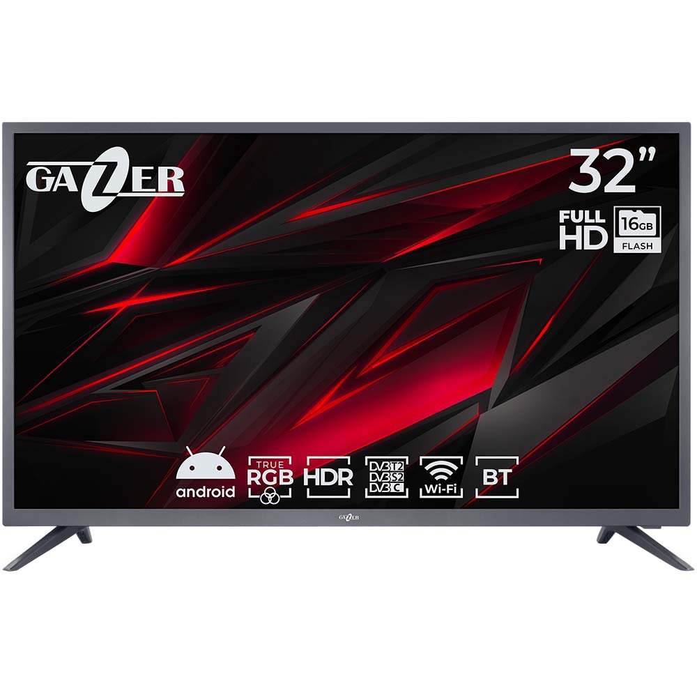 Телевизор GAZER TV32-FS2G
