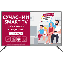 Телевизор PRESTIGIO D1TV50SS05XUA