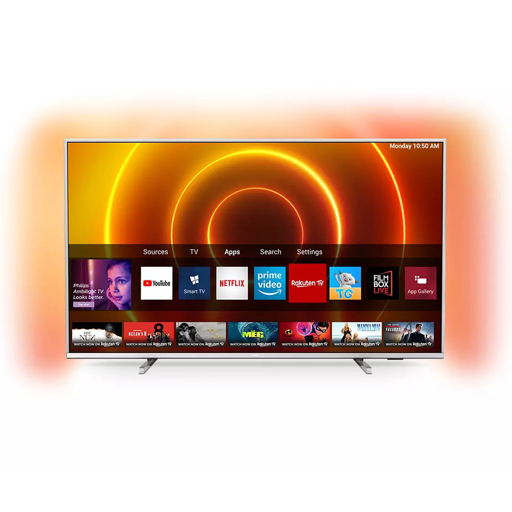 Телевизор PHILIPS 65PUS7855/12 Формат экрана широкоэкранный (16:9)