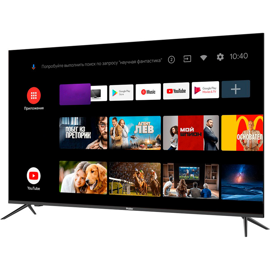 "Телевизор HAIER 58 Smart TV MX (DH1SXXD00RU) Диагональ 58"" (147 см)"