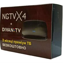 Медиаплеер NGTV X4 + подписка Divan TV